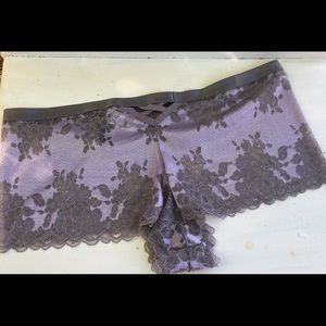 torrid Intimates & Sleepwear - NWT TORRID LAVENDER SILVER LACE PANTY SZ 2